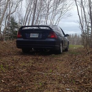 2003 5 speed Honda Civic coupe all options of an si