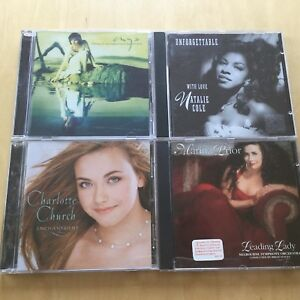 4CD Female Vocalist/ Enya / Charlotte Church/Marina Prior/N.Cole