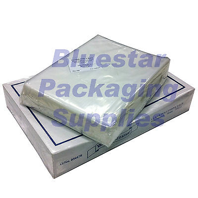 100 x Clear Polythene Food Bags 12