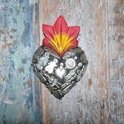 Mexican Milagro Heart Decoration Mini C