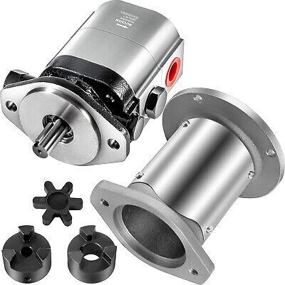 Vevor 22gpm Log Splitter Pump Kit 2-stage Hydraulic Gear Pump 78 Crankshaft