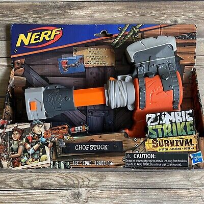 NERF ZOMBIE STRIKE Survival System CHOPSTOCK Stock Attachment Hasbro 2018