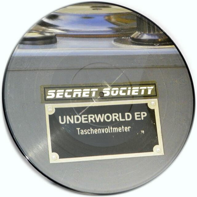 Picture Vinyl Secret Society Underworld EP   Limited Edition