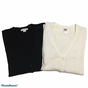 Black and White Cardigans 10/12