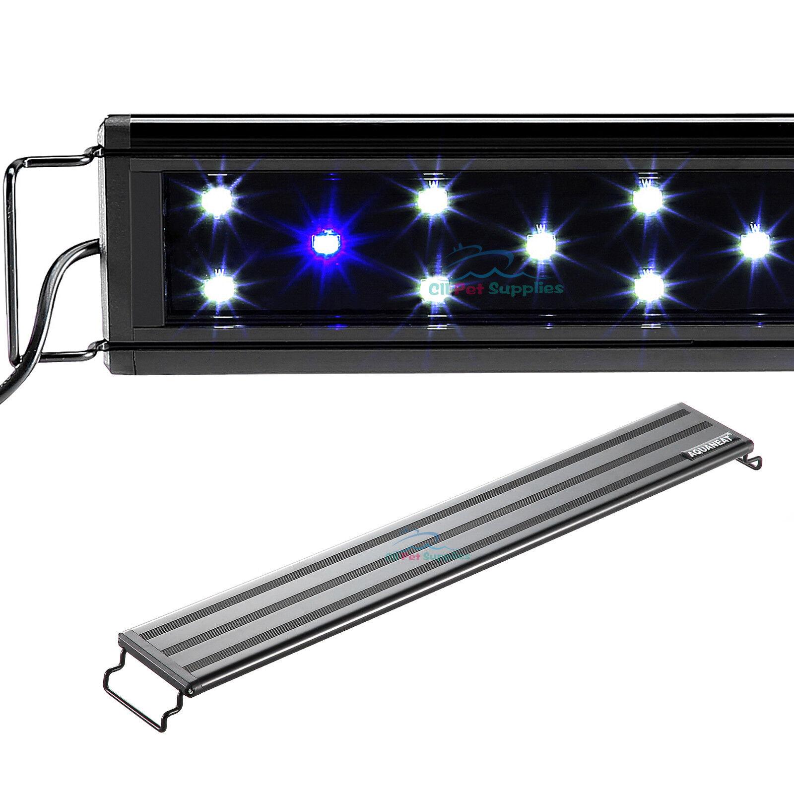 AQUANEAT 0.5W LED Aquarium Light Marine FOWLR Blue & White 24/36 Inch