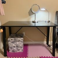 Used glass table for sale