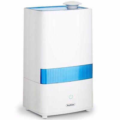 VonHaus 4.5L Ultrasonic Humidifier Aroma Diffuser – Compact Air Moisturiser