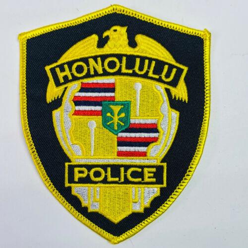 Honolulu Police Hawaii HI Patch A1A