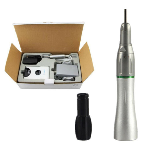 Dental Portable Micro Motor + 16:1 Handpiece Lab Polisher Brushless Business & Industrial