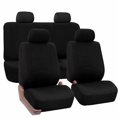 Seat Covers for Car Truck SUV Van Universal Fitmentment Solid Black, usado segunda mano  Embacar hacia Mexico