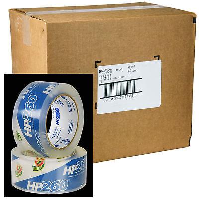 Case Of 36 Rolls Duck Hp260 Clear 3.1 Mil Packaging Tape 1.88 X 60 Yd.