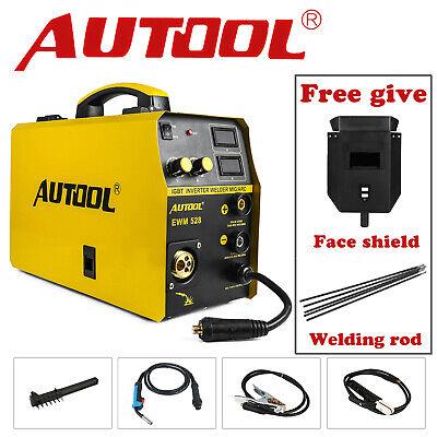 Autool Mig Welding Machine Inverter Welder Overheat Protection Igbt Portable