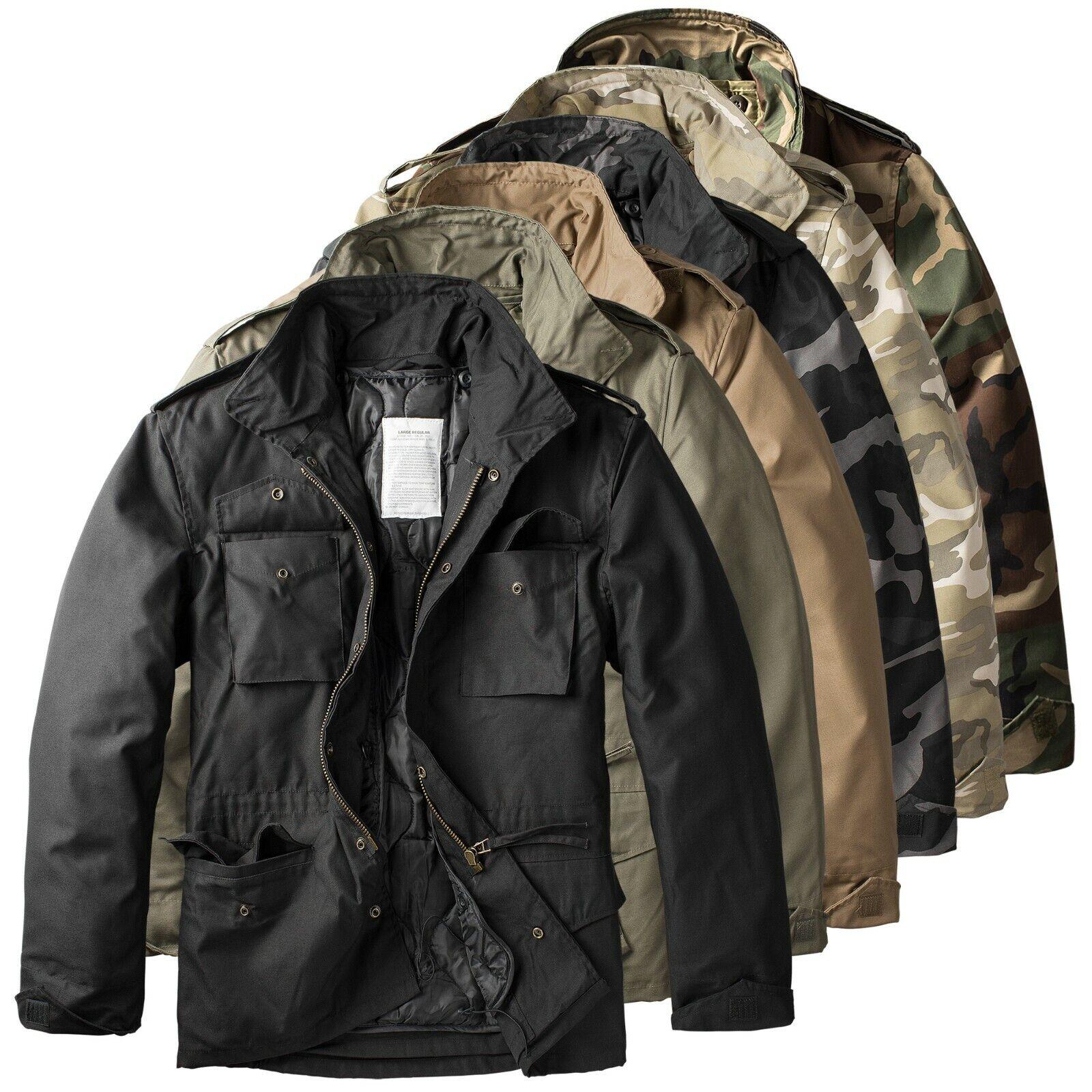 Trooper Raw Vintage M65 Herren Winter Jacke Fieldjacket