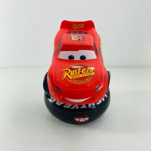 Disney Pixar Cars Lightning McQueen #95 Night Light Trophy Lamp Tested