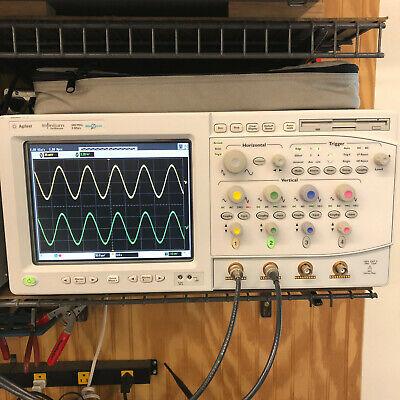 Hp Agilent Infiniium Oscilloscope 600 Mhz 4 Gsas 54831m Megazoom Mixed Signal