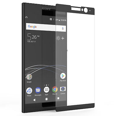 Sony Xperia XZ3 Screen Protector Best Tempered Glass Thin 100% Full
