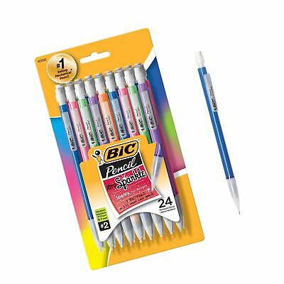 Bic Xtra-sparkle Mechanical Pencil Medium Point 0.7 Mm 24-count Pack 0.7mm