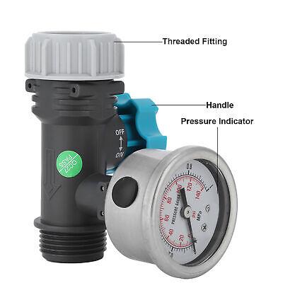 Adjustable Water Pressure Regulator Valve With Pressure Gauge Courtyards Garden