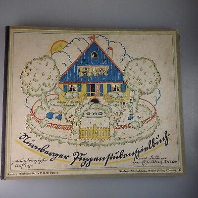 Else Wenz-Vietor: Nürnberger Puppenstubenspielbuch ca. 1928 (51140)