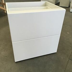 Flat pack drawers ebay for Kitchen cabinets 800mm