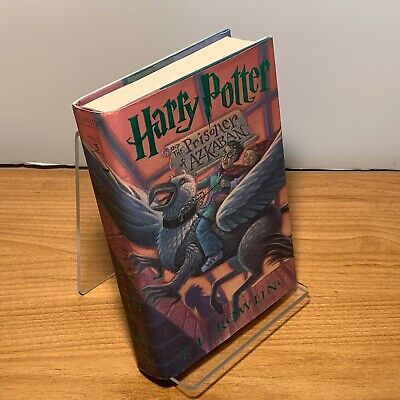 year 3: Harry Potter and the Prisoner of Azkaban by Rowling. 1st Ed. Hardcover