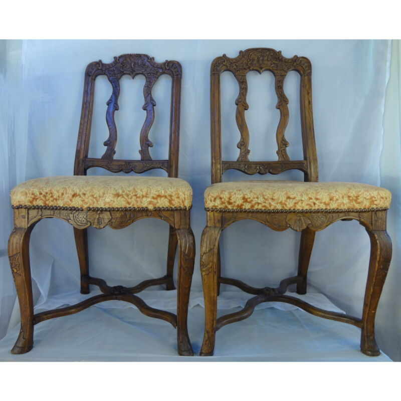Pair Regence side chairs
