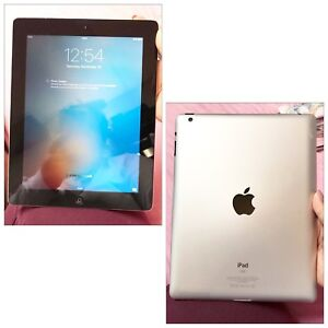 Apple iPad 16GB in Silver Model A1416 - Please see photos