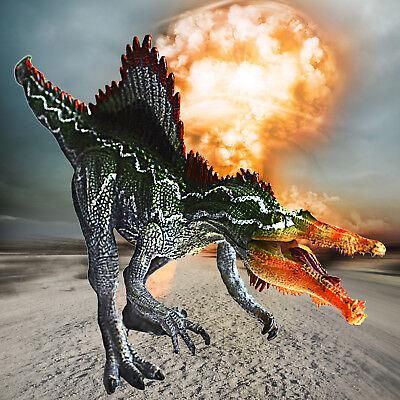 Dinosaur Christmas (Large Spinosaurus Action Figure Dinosaur Toy Educational Model Christmas)