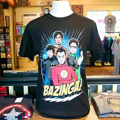 Big Bang Theory Superheroes Men's - Bigbang Superheroes