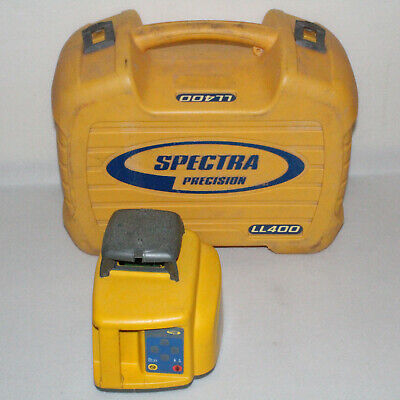 Trimble Spectra Precision Ll400 Self-leveling Rotary Transit Laser Level W Case