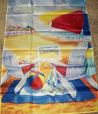 28X40 BEAUTIFUL BEACH RETREAT OCEAN VACATION  LARGE FLAG