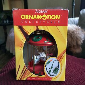Vintage 1980's Noma Ornamotion collectable