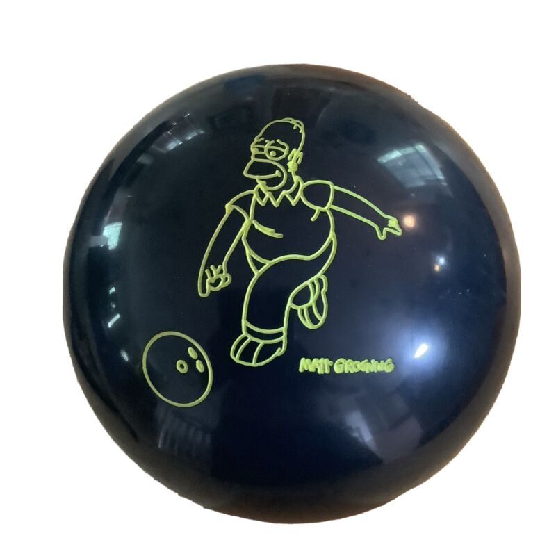 Hammer The Simpsons Bowling Ball 15lb Matt Groenig Fox 01J056728