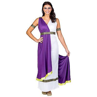Frauenkostüm olympische Göttin Minerva Kostüm Karneval Fasching Halloween Kleid