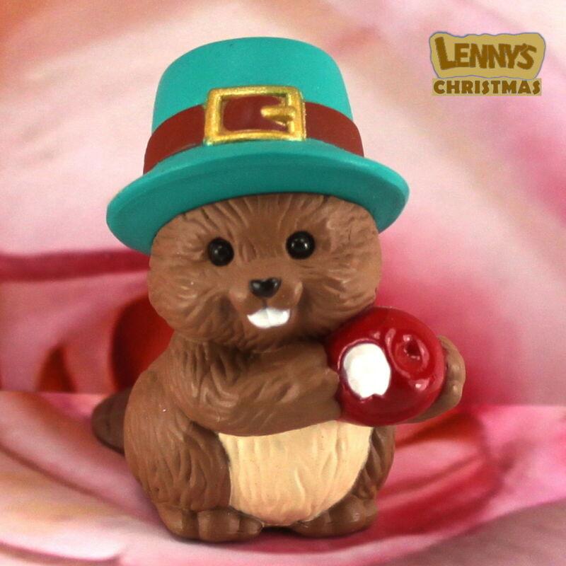 Hallmark Merry Miniature, 1994 Beaver, Looks New
