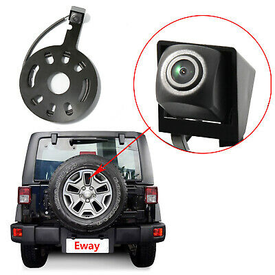 Spare Tire Mount & Backup Rear View Camera for Jeep Wrangler JK 2007-2015