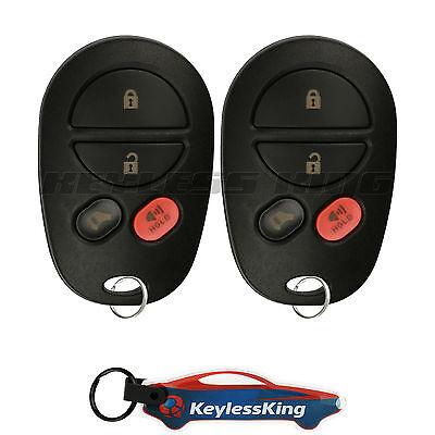 2 Keyless Entry For Toyota Highlander 2007 2008 2009 2010 2011 Remote Key Fob