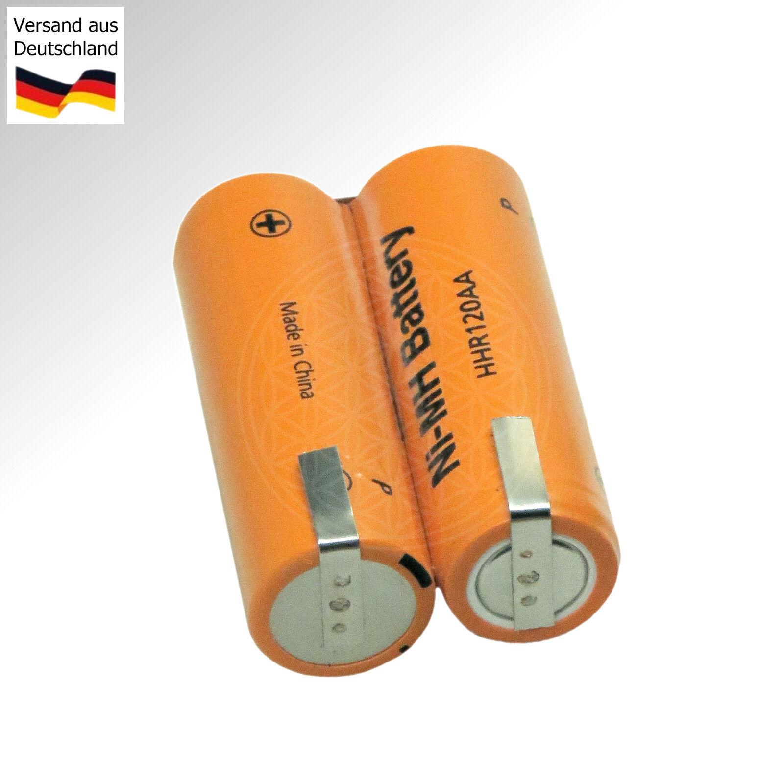 Ersatz Akku für Braun Rasierapparat 2,4 Volt Rasierer 2.4 V Haarschneidemaschine