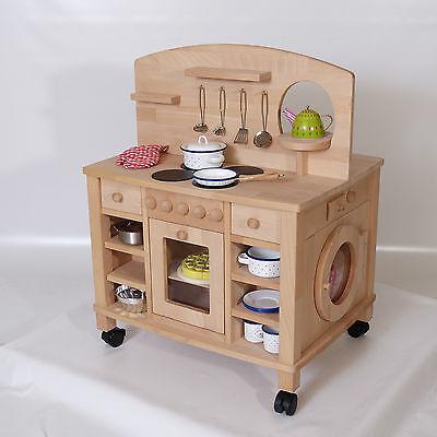 Spielküche Holz-Kinderküche Cinderella 2050 von Holzspielzeug-Peitz