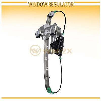 1pc Rear Left Driver Power Regulator Window w/o Motor Fit 00-05 Cadillac DeVille