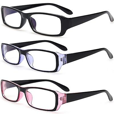 Slim Sexy Secretary Style Plastic Clear Lens Fashion Glasses
