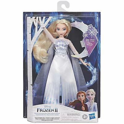 Hasbro Disney Frozen 2 Children's Frozen Musical Adventure Elsa Singing Toy Doll