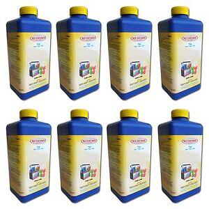 SLUSHYBOY® Slush-Eis-Sirup/-Konzentrat - Paket 8x 1-Liter-Flasche