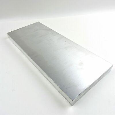 .75 Thick 34 Aluminum 6061 Plate 7.375 X 24 Long Sku 180623