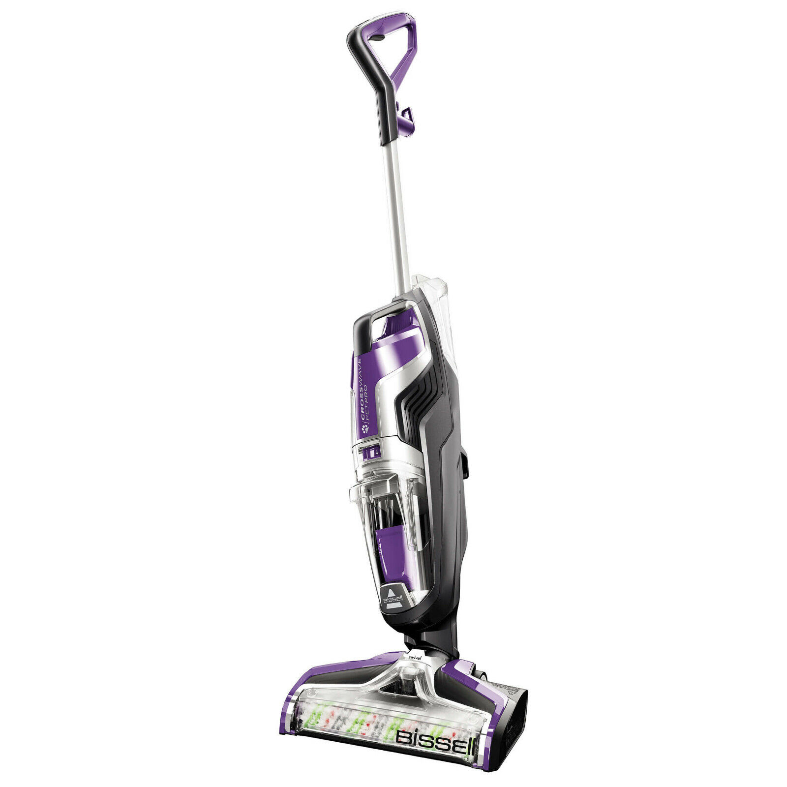 BISSELL 2306A CrossWave Purple Pet Pro All-in-One WetDry Vac