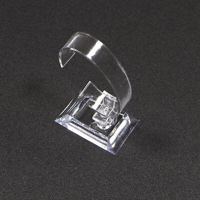Clear Acrylic C Type Watch Bracelet Bangle Jewelry Display Stand Fr Retail Shop
