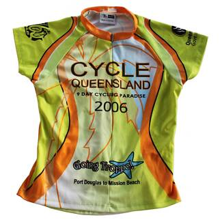 Scody 'Cycle Queensland' Cycling Event Jersey (SIZE:S)