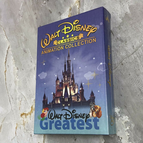 Walt Disney 24 Classics Movie Collection Lot DVD 12-Disc Box Set Fast Shipping