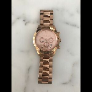Michaels Kors women's rose gold watch