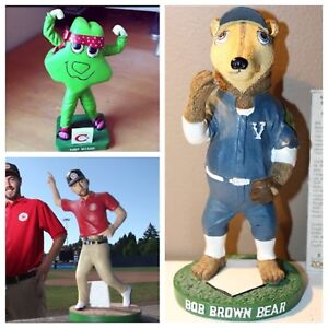 Vancouver Canadians mascot bobble heads.  Bobblehead